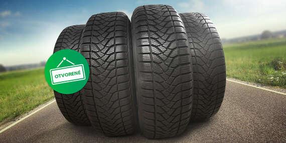 Kompletné prezutie pneumatík s vyvážením alebo prehodenie obutých kolies/Pezinok