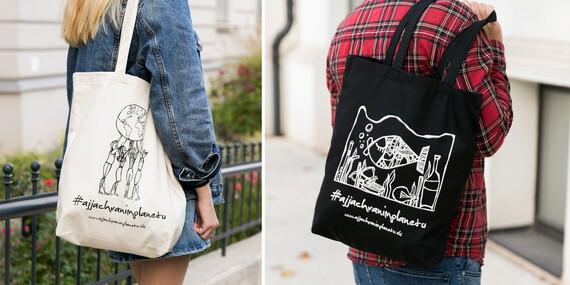 Povedzte NIE igelitkám s bavlnenou taškou #ajjachranimplanetu / Slovensko