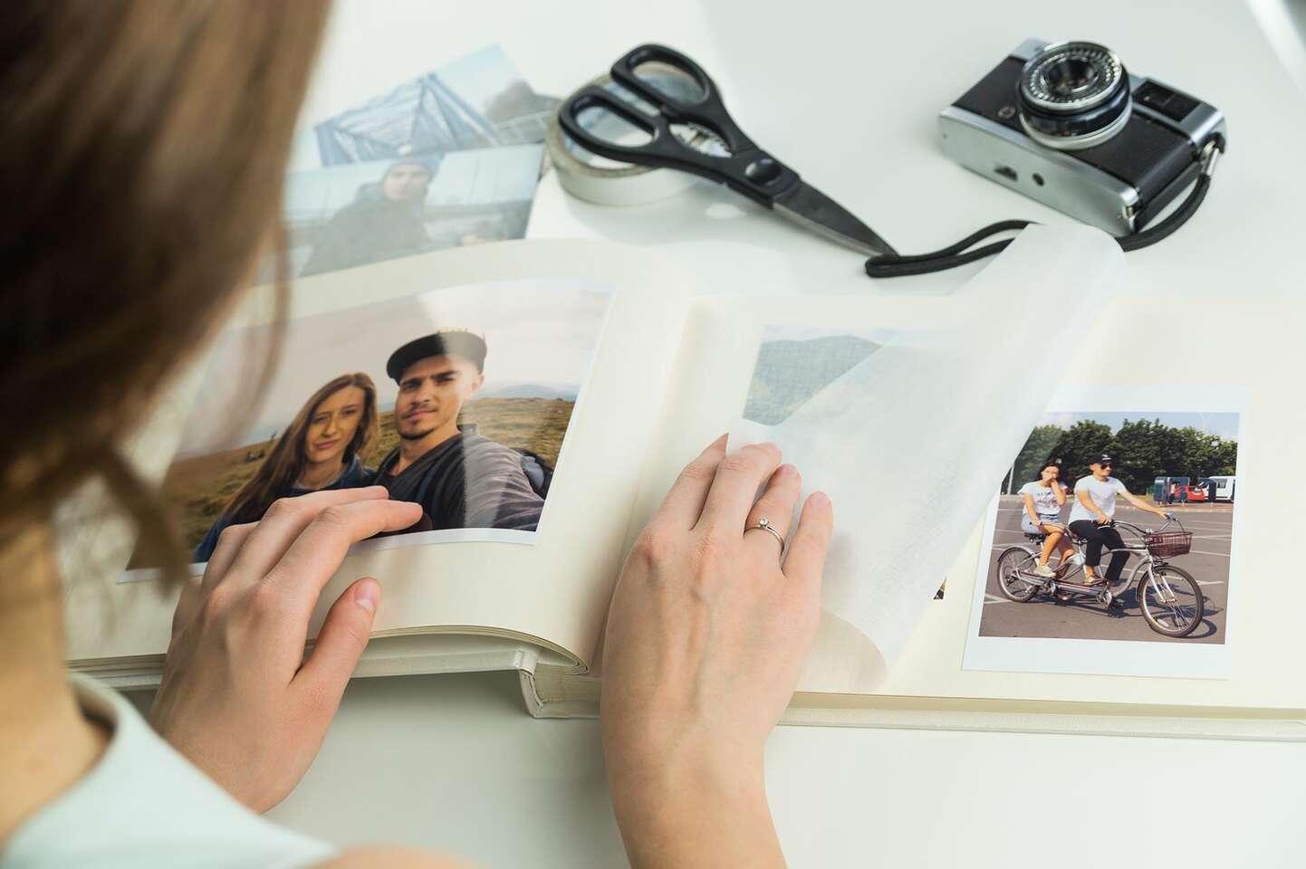 Tlač digitálnych fotografií na špeciálny papier pre fotorealisti...