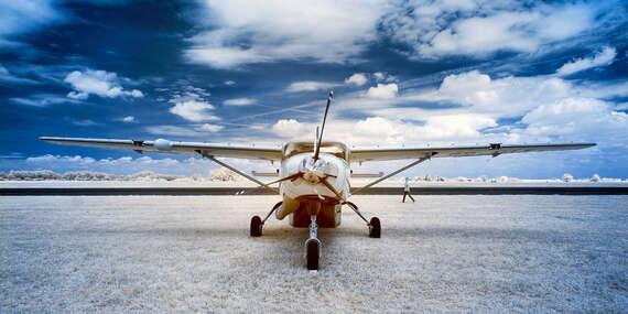 Svet je krajší zhora – lietanie pre 1 až 3 osoby s možnosťou pilotovania bez obmedzení/Trnava, Dubová pri Modre, Senica