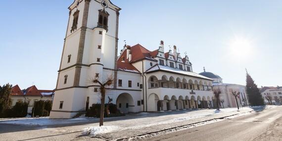 Zimný pobyt v historickom hoteli U Leva*** s polpenziou a SKIPASMI v cene/Levoča