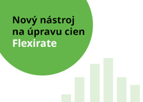 Nový nástroj na úpravu cien - Flexirate