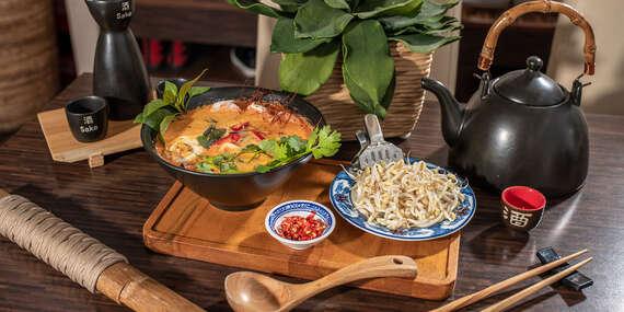 Ázijské menu s polievkou v obľúbenom Việt Phố / Bratislava - Podunajské Biskupice