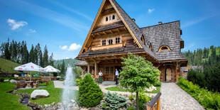Penzión Tatrzanski Bór v Poľsku je obklopený krásnou prírodou a sviežim horským vzduchom