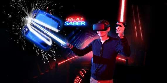 Požičanie virtuálnej reality na celý víkend (okuliare + 10 hier + kuriér k vám domov)/Bratislava