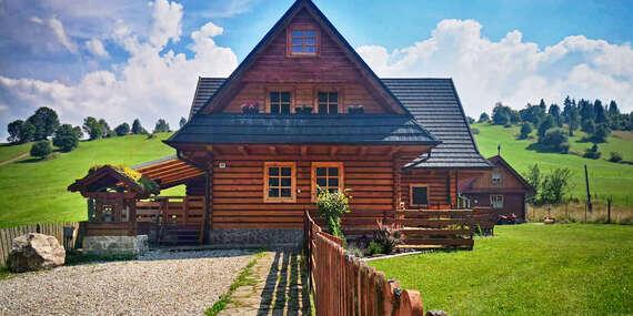 Prenájom celej chaty Siberia Haus až pre 26 osôb v nedotknutej prírode Pienin so vstupom do súkromnej kade/Slovensko - Osturňa