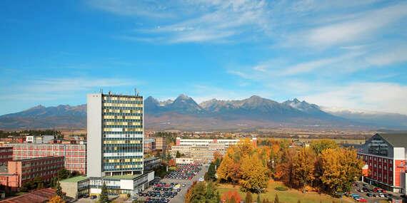 Ideálny pobyt pre rodinu v hoteli SPOLCENTRUM*** s wellness a výhľadom na panorámu Tatier/Vysoké Tatry - Svit