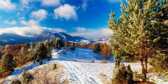 Zima vo Vile Hana v Novej Lesnej priamo pod Vysokými Tatrami / Nová Lesná