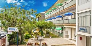 Pôvabná Villa Yachting*** cca 400 m od pláže a cca 250 m od centra mesta Lignano