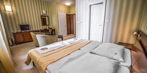 Oddych pre náročných v hoteli Sandor Pavillon**** v Piešťanoch s neobmedzeným wellness + ubytovanie pre dieťa do 12 r. / Piešťany