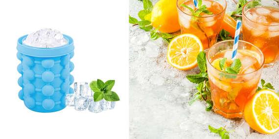 Mini ľadomat - nádoba na výrobu ľadu alebo miesto na schladenie fliaš/Slovensko