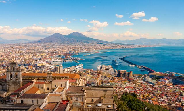 Úžasný 4-dňový letecký zájazd Neapol, Capri, Vezuv a Pompeje