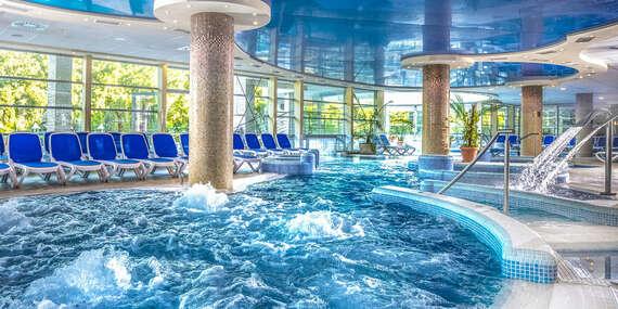 Termální lázně a wellness v Hotelu Visegrad Superior **** s polopenzí a volným vstupem do bazénů/Maďarsko - Visegrad