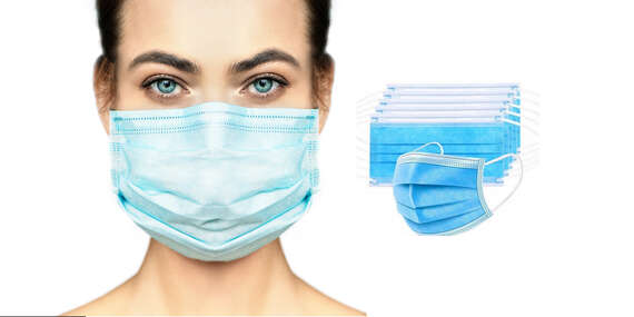 Ochrana pro vás nebo vaše děti v podobě jednorázových třívrstvých roušek s vysokou schopností zachytit viry a bakterie/Slovensko