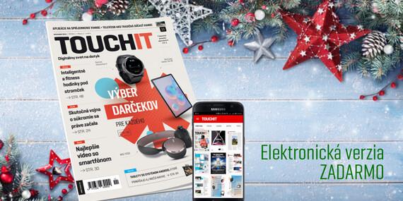 Ročné predplatné časopisu TOUCHIT + powerbanka ako darček/Slovensko