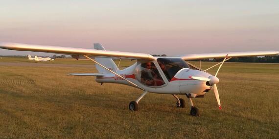 Zážitkový let na ultraľahkom hornoplošníku s možnosťou pilotovania na skúšku vami vybranou trasou / Nitra