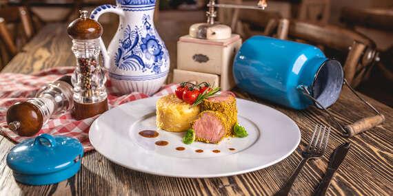 Menu spojené s vínnou degustáciou s výkladom v rodinnej reštaurácii Starý Dom, priamo v historickom centre Modry / Modra