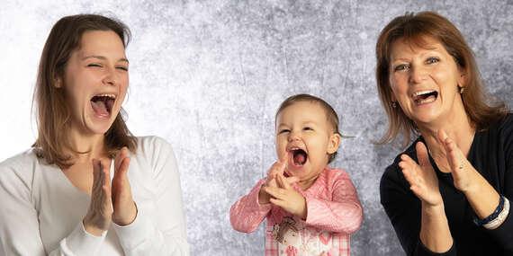 Profesionálne rodinné a portrétne fotenie aj ako darček (platnosť až do septembra 2020) / Bratislava