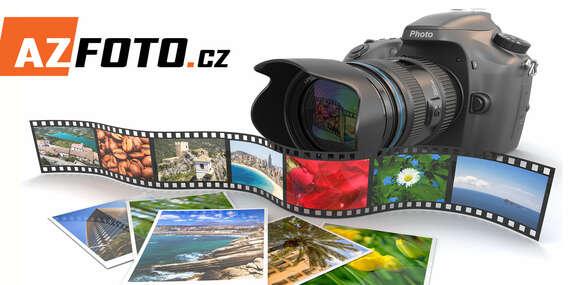 Myslete ve velkém - Tisk 10 velkoformátových fotografií ve velikostech A4 nebo A3 jako originální dekorace nebo pomůcka v práci/ČR