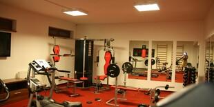 Fitness centrum v areáli apartmánov vo Veľkej Lomnici