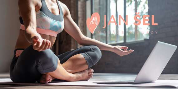 Uvoľnenie tela aj mysle vďaka online kurzu jogy s neobmedzeným ročným prístupom/Slovensko, Česko