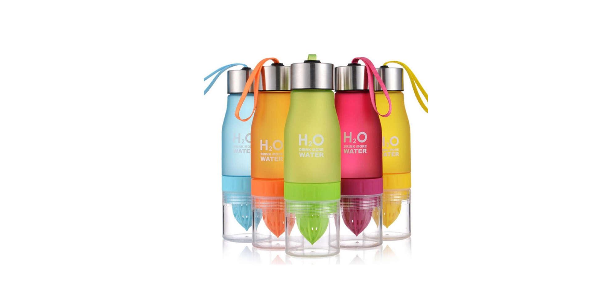 H20 fľaša s odšťavovačom na citrusy alebo termotaška na nápoje...