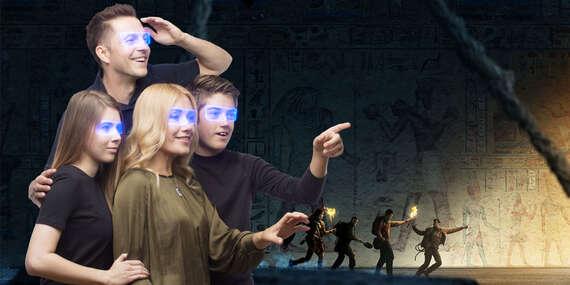 Nechte se pohltit světy Assasins´s creed, Princ of Persia, Escape the lost pyramid a Alenka v říši divů ve virtuální expedici/Praha