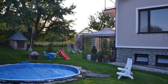 Dokonalý relax na Vysočině s vířivkou, saunou, masáží a polopenzí pro 2 osoby v chalupě Sofie/Vysočina