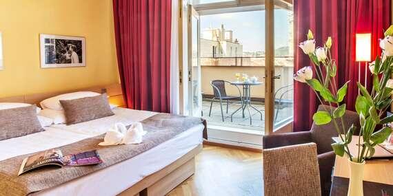 Pobyt v srdci Prahy v hotelu Amarilis**** jen kousek od Staroměstského náměstí se snídaní a možností wellness/Praha