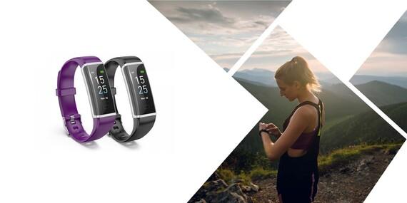 Inteligentný fitness náramok a hodinky v jednom/Slovensko