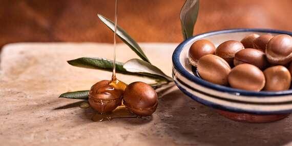 Bio panenský 100 % arganový olej s damašskou ružou priamo z Maroka/Slovensko