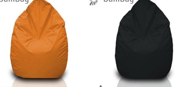 Sedací vak nemeckej značky BulliBag alebo náplň vrátane poštovného - teraz aj vo veľmi pohodlnom tvare hrušky/Slovensko