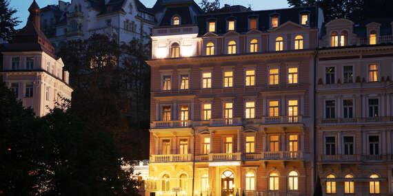 Karlovy Vary ve 4* luxusu Humboldt Park Hotel & Spa s polopenzí, neomezeným wellness, procedurami a platností do srpna 2021/Karlovy Vary