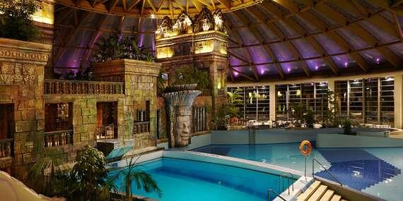 Luxusní hotel Aquaworld Resort Budapest s přímým vstupem do vodního parku Aquaworld, polopenzí a dítětem do 7 let zdarma až do konce června 2020/Maďarsko - Budapešť