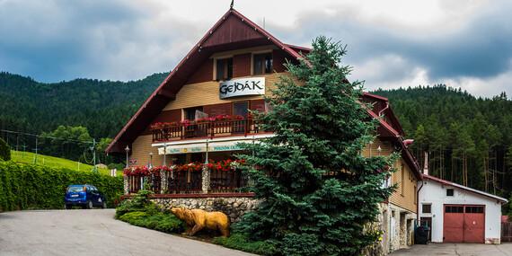 Zima v panenskej prírode v Horskom hoteli Gejdák*** s polpenziou a wellness/Ružomberok - Liptov