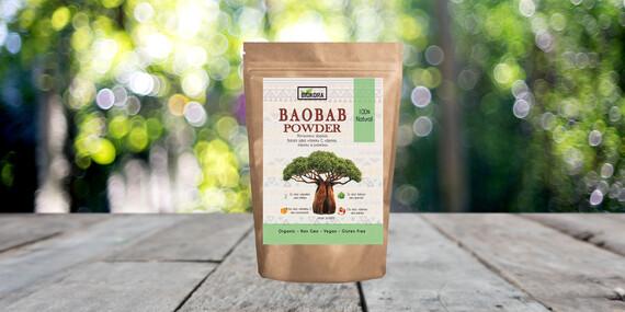 Bambucké maslo, Senovka grécka, BIO Moringový a Baobabový prášok značky Biokora Natural&Organic/Slovensko