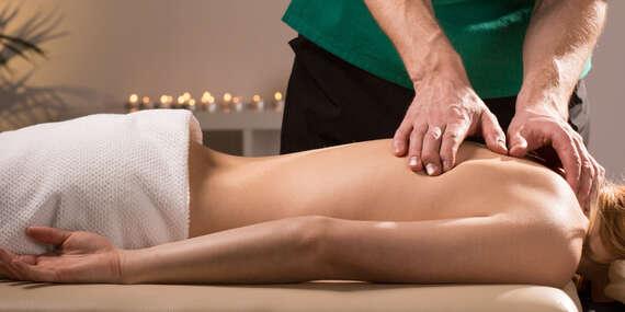 Až 4 druhy profesionální masáže v délce 60 nebo 90 minut v prostorách Sokola Michle/Praha - Michle