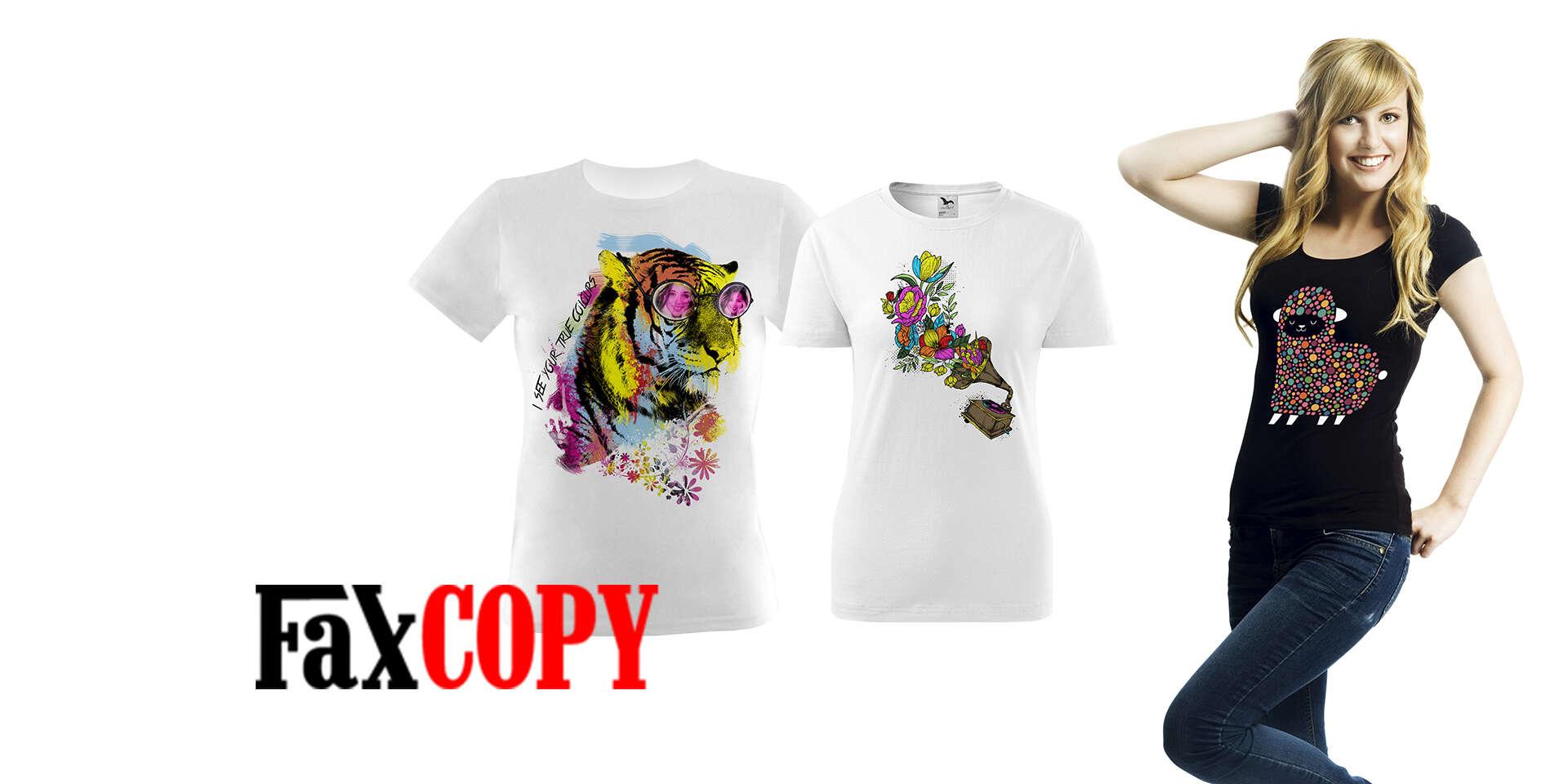 Originálne tričko s vlastnou potlačou aj pre zamilovaných alebo s...