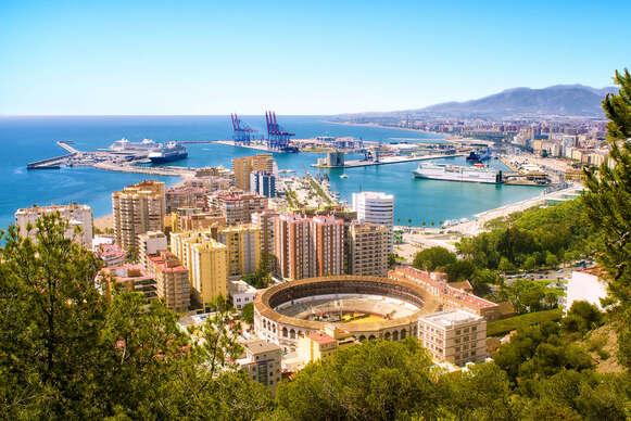 Slnečná Andalúzia a Gibraltár letecky z Bratislavy na 4 dni s ubytovaním, raňajkami a sprievodcom