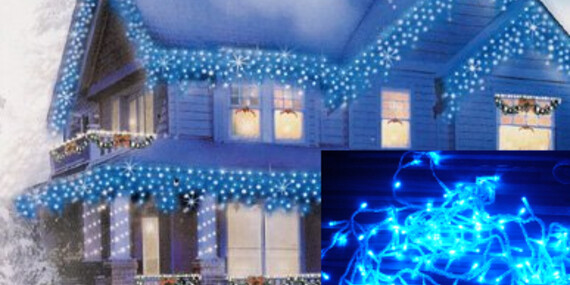 Vianočné ozdobné led osvetlenie/Slovensko