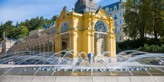 Mariánské Lázně s wellness pobytem v hotelu Belvedere Spa & Wellness****, bohatou polopenzí, neomezeným vstupem do bazénu a výhledem na kolonádu/Mariánské Lázně