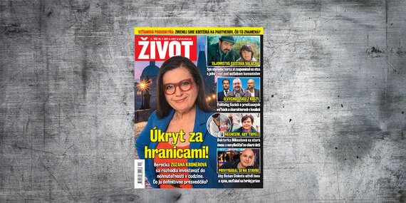 Ročné predplatné týždenníka ŽIVOT/Slovensko