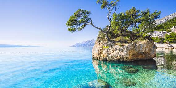Dovolenka pri mori na 7 nocí v hoteli Palma*** na Makarskej cca 100 m od okruhliakovej pláže/Chorvátsko - Makarská riviera - Dalmácia