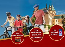 Navštívte tieto miesta a vyhrajte 3 000 eur