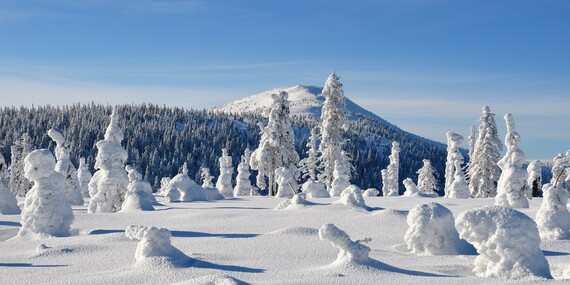 Pohádková zima v Krkonoších na chatě Malá Rennerovka s polopenzí na 3-6 dní, platnost až do března 2020/Krkonoše - Strážné