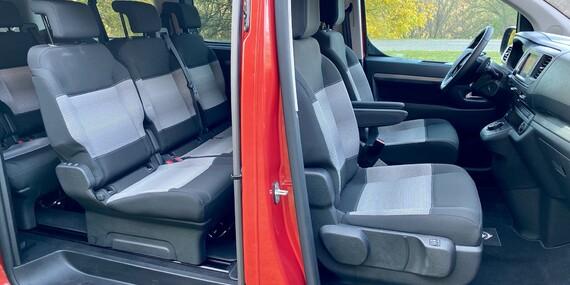 Prenájom minibusu s automatickou prevodovkou pre 8 osôb/Slovensko