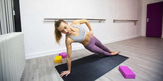 Krásne pružné telo s hodinami flexi jogy a pilatesu, počas ktorých dokonale vypnete / Bratislava