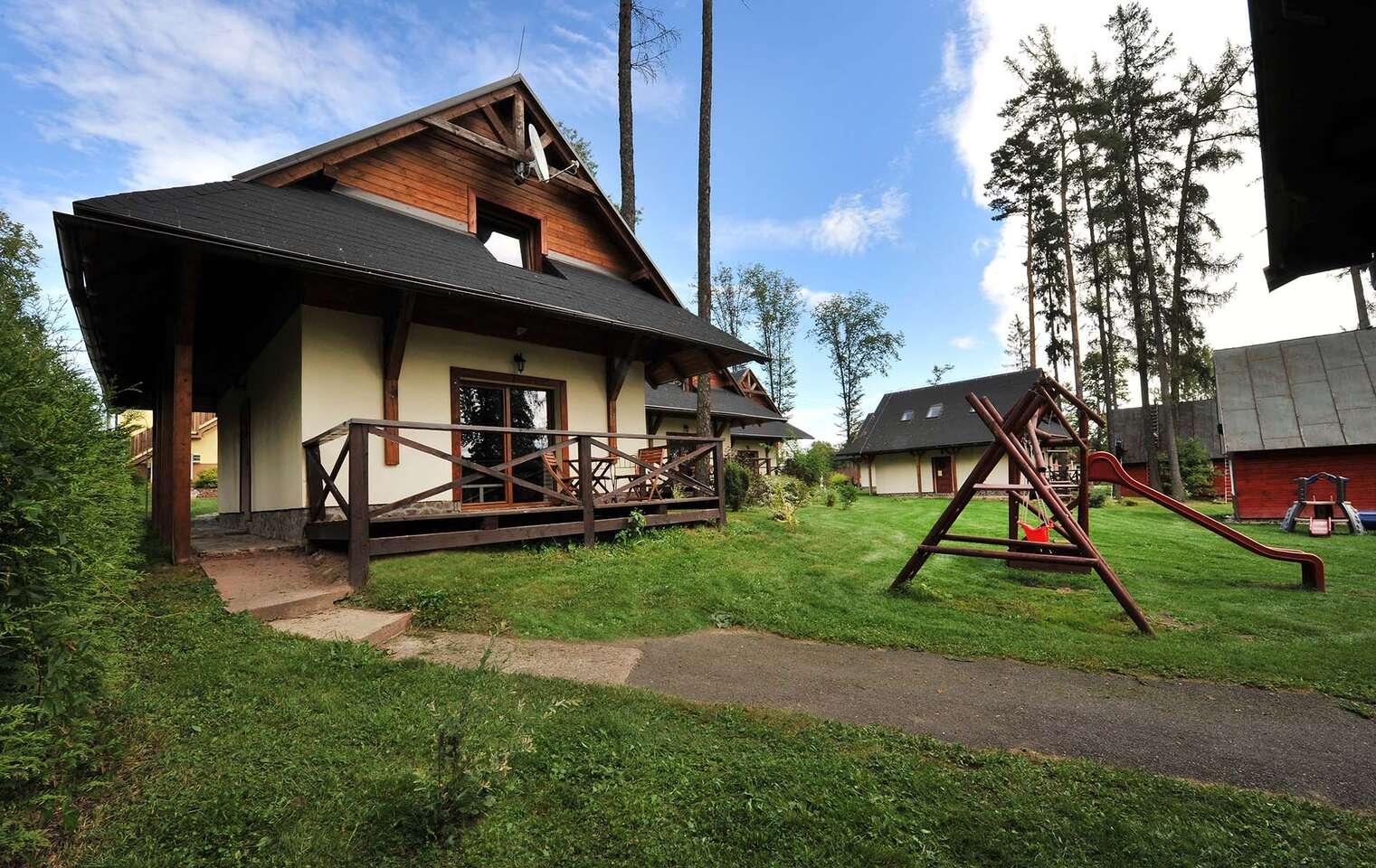 Chaty a domčeky Aplend pre 4 osoby priamo vo Vysokých Tatrách so saunou a množstvom zliav