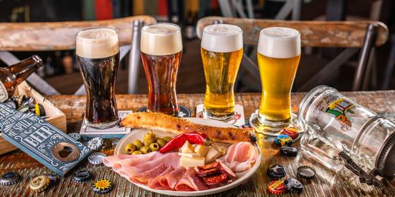 Objavte chuť remeselného piva Nobell – Craft Beer s odborným výkladom alebo si dajte svetlý ležiak spolu s pizzou / Bratislava - Petržalka