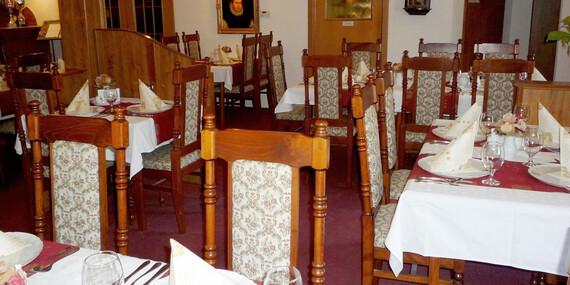 3chodové menu dle výběru pro dva v Golemově restaurantu/Praha - Březiněves